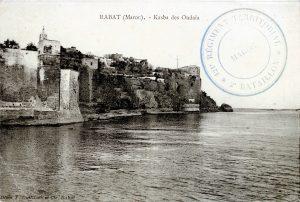 Kasbah des Oudaïa - carte postale Maroc 1914-1918