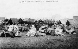 Maroc - campement marocain