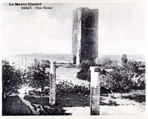 Album-souvenir de Rabat (3) Tour Hassan