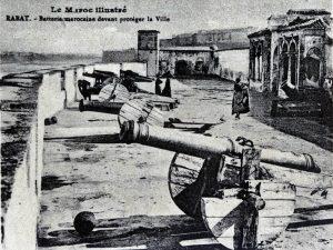 Album-souvenir de Rabat (6) Batterie marocaine devant protéger la ville