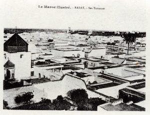 Album-souvenir de Rabat (8) Rabat, ses terrasses