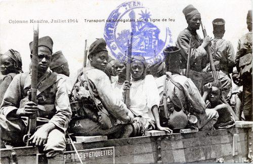 Tiraileurs sénégalais et leurs femmes