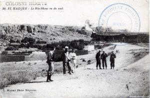 El Hadjeb, Colonne Henrys, Maroc 1914