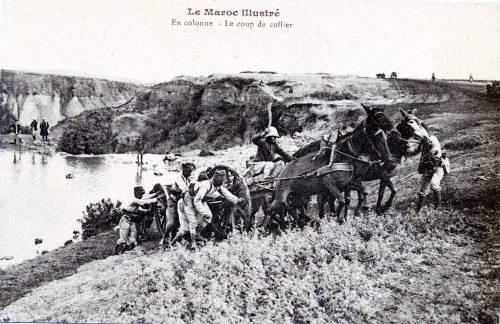 Tirailleurs sénégalais, colonisation occupation du Maroc, 1914