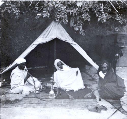 Maroc 1915-1916, fumeur d'opium