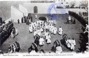 """""""Le sultan Moulay-Youssef en grande cérémonie"""""""