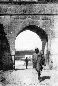 Maroc, marchand d'eau, Meknès