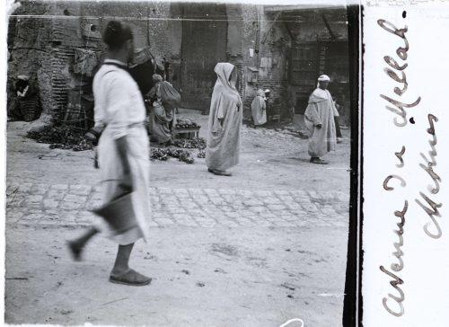 Meknès avenue du Mellah