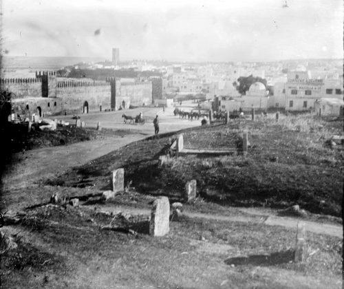 Pointe des Oudaïas - vue sur Salé - Maroc 1915-1916 Rabat