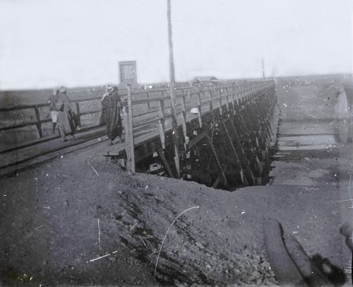 Pont du chemin de fer sur l'oued-Sebou (1)