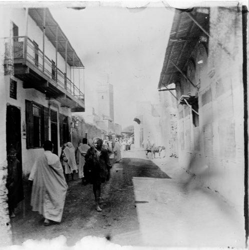 Maroc 1915-1916, rue