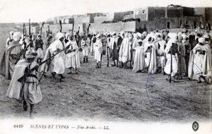 """Scènes et types - Fête arabe"""