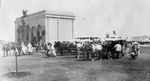 Une gare, Maroc 1915-1916