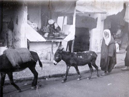 Maroc, 1915-1917 - Une rue Rabat