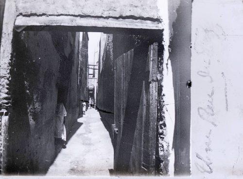 Maroc, une rue de Fez - 1915-1916 - Photo © Joseph Miquel