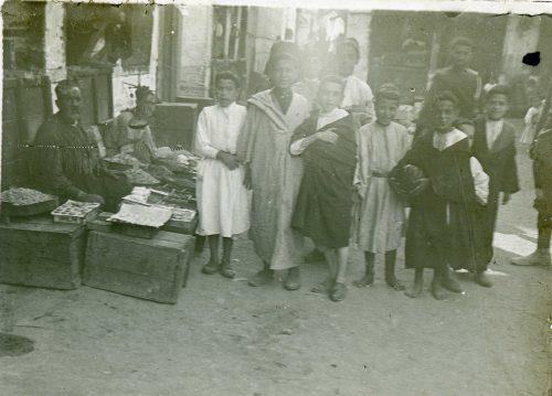 "Juifs marocains - ""groupe de jeunes israélites"" - Maroc 1916"