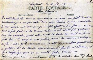 verso Photographie colonne poilus,Maroc septembre 1915