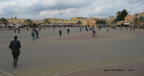 Place El Hédim, Maroc 2013 photo © André Langlois