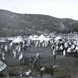 Fête à Volubilis - Maroc 1915 - photo © Joseph Miquel