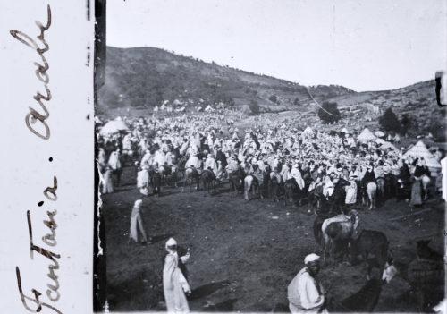 Fantasia arabe - Photo © Joseph Miquel Maroc 1915