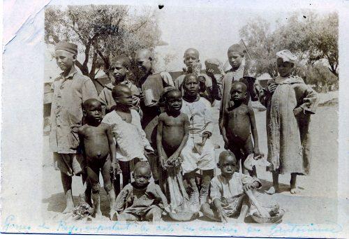 enfants Maroc 1914 1915 1916 1917 1918