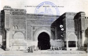 Meknès - Bab-el-Mansour - carte postale 1914