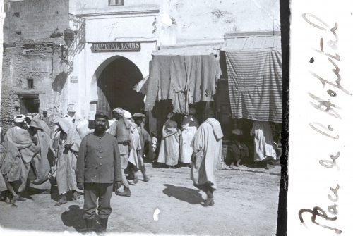Place de l'Hôpital, Hôpital Louis, Hôpital Louis, Meknès (1)