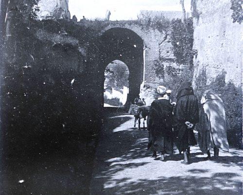 """Porte Sidi-Brahim"" - Maroc 1915 - Photo © Joseph Miquel"