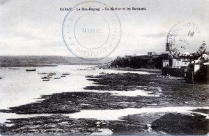 Rabat - le Bou-Regreg, la marine et les barcasses