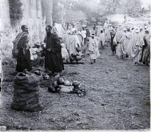 Maroc, 1915-1916, marché - photo © Joseph Miquel