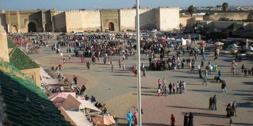 Place el Hédim, Maroc