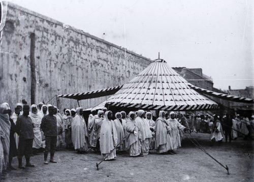 Photo © Joseph Miquel Maroc 1915 tente caïdale