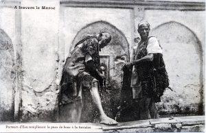 Maroc 1915 Porteurs d'eau