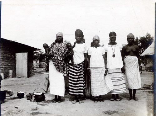 Sans libellé - Femmes de tirailleurs africains