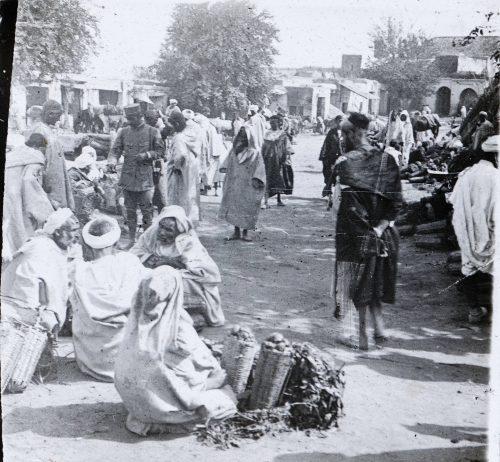 Maroc 1915 - Marché
