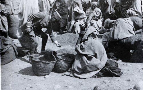 Maroc 1915, marché