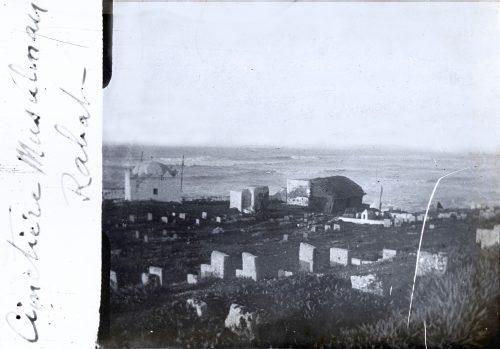 Maroc 1916 Cimetière musulman, Rabat