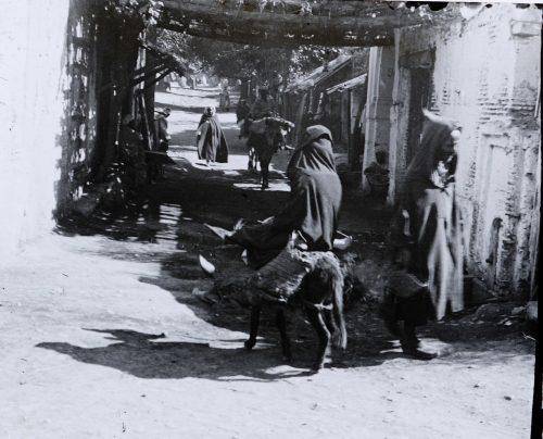 Entrée d'un souk, Maroc 1915