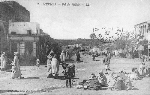 Meknes Bab Mellah - carte postale