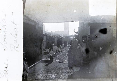 Rue Souika - Rabat, Maroc 1916