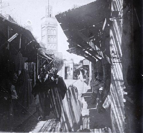 Souk - Intérieur - Maroc 1915-1918