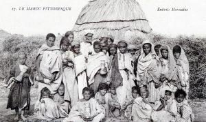 Carte postale Maroc - enfants marocains 1914